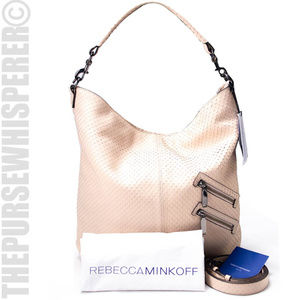 NEW - Rebecca Minkoff Leather Jamie Convertible